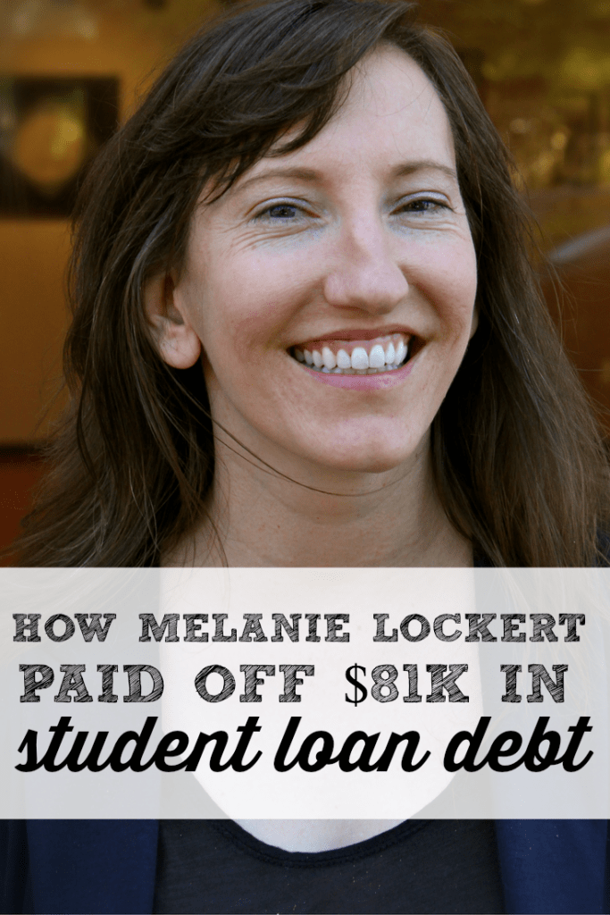 [Podcast Ep. 19] How Melanie Lockert Paid Off $81k In Student Loan Debt