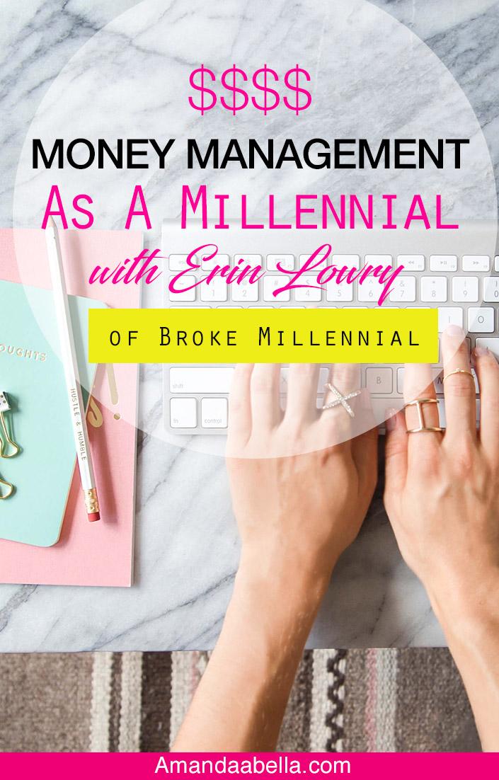 money management as a millennial
