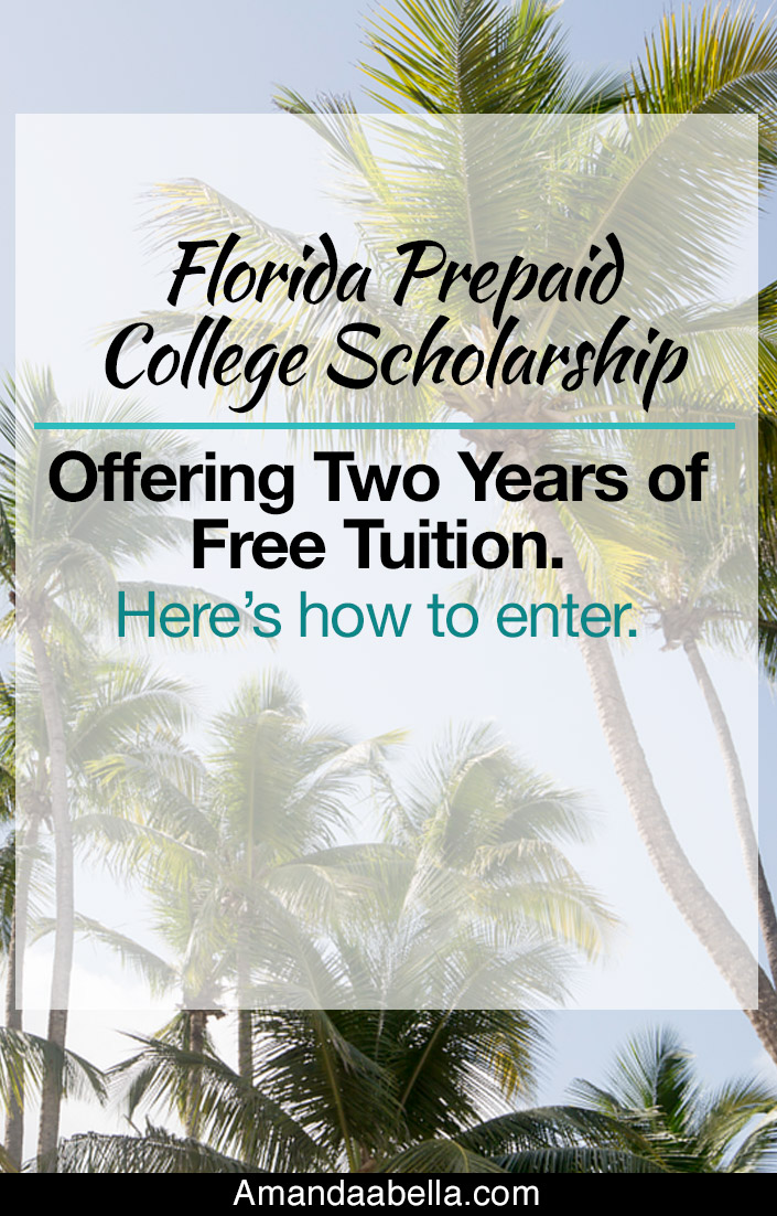 Florida prepaid college scholarship