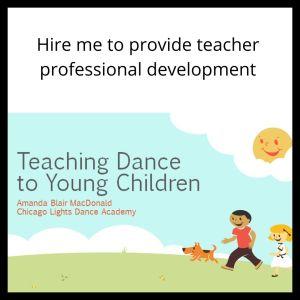 Hire me to provide teacher professional development