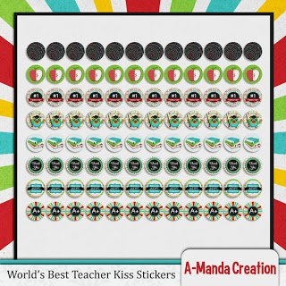 Teacher Appreciation Printable Gift ideas candy wrappers, nuggets and kisses