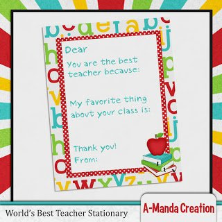 Teacher Appreciation Printable Gifts Stationary and Subway Art