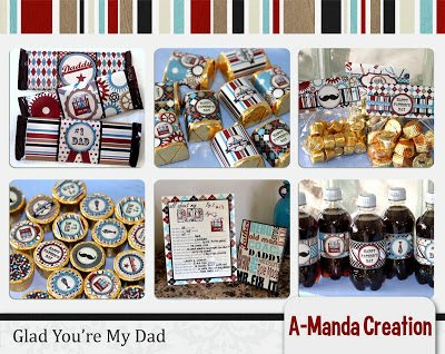 Father's Day Printable Party and Gift Ideas and a Freebie!