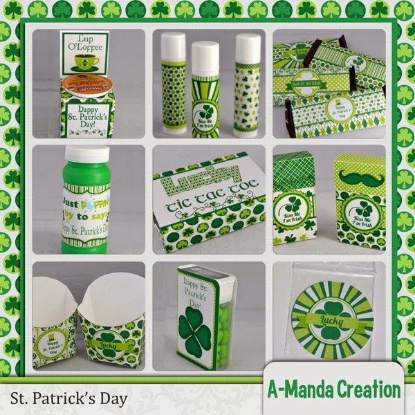 St. Patrick's Day Printables, gifts and a Freebie!