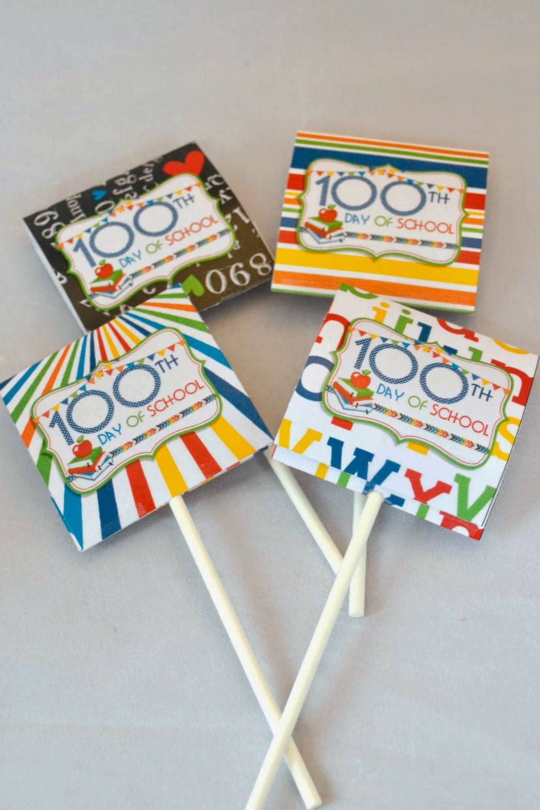 100th Day Of School Party Printables
