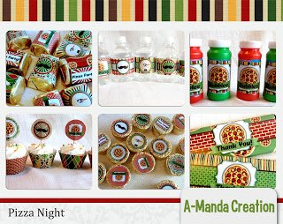 Pizza Night Party Printables and Freebie!