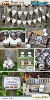 S'mores Party Printables