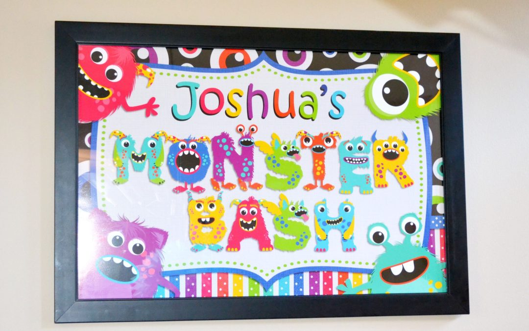 Monster Bash Printables