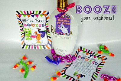 booze your neighbor halloween boo neighbor treat game