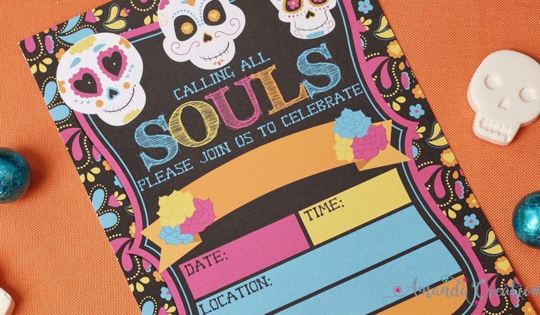 Party Essentials For Your Sugar Skull Soiree