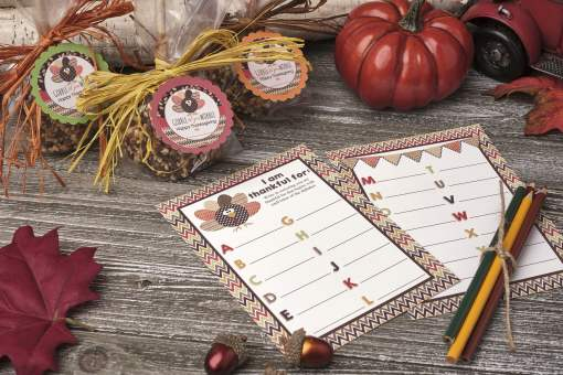 a to z thanksgiving game