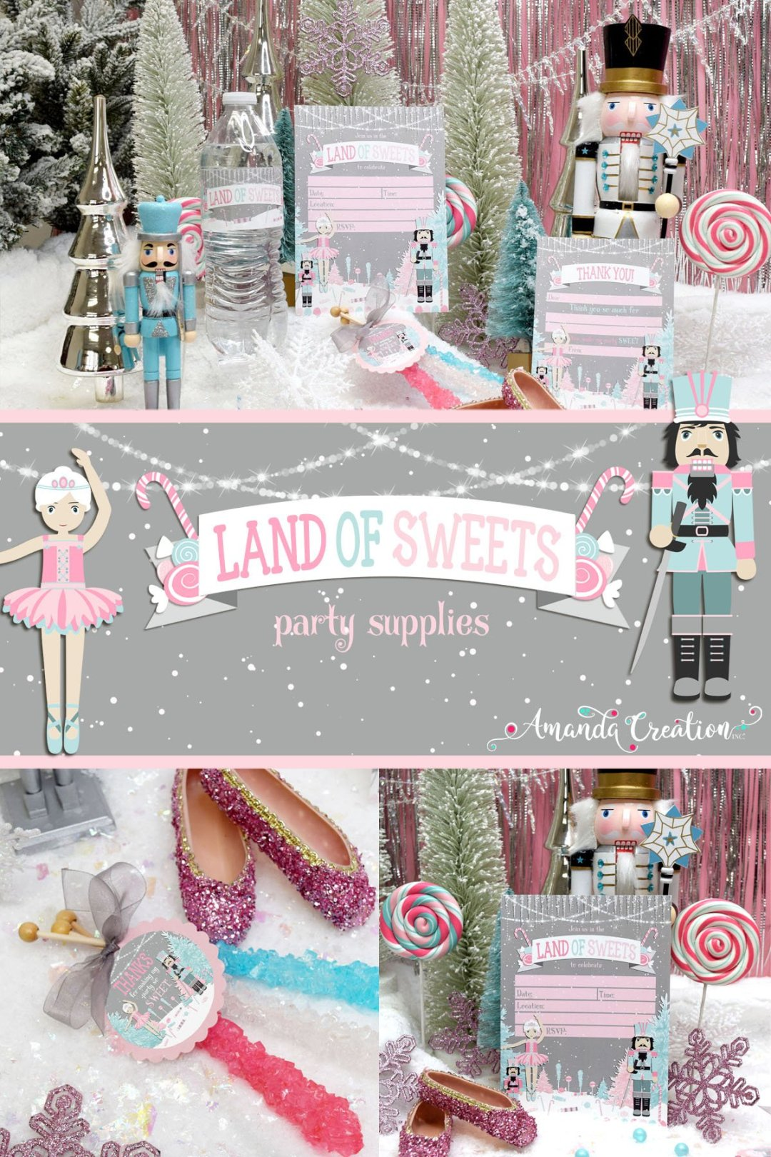 Land of Sweets Party Supplies