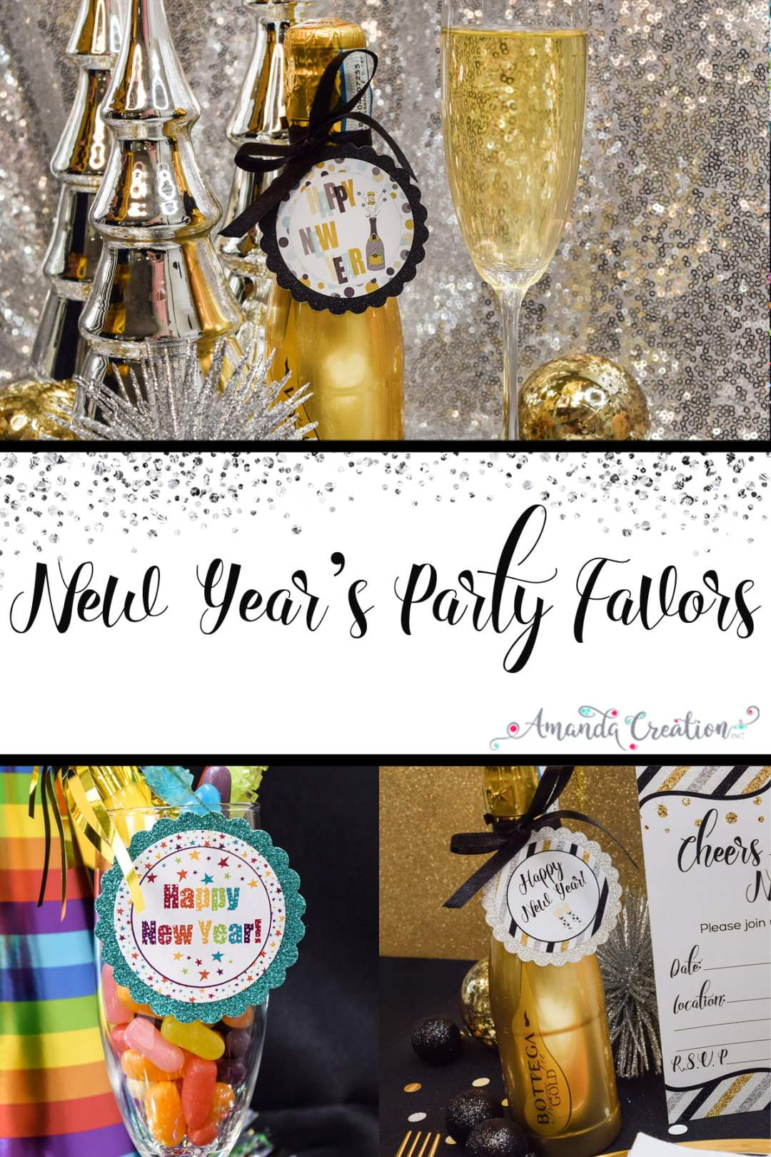 New Year's Party Favors