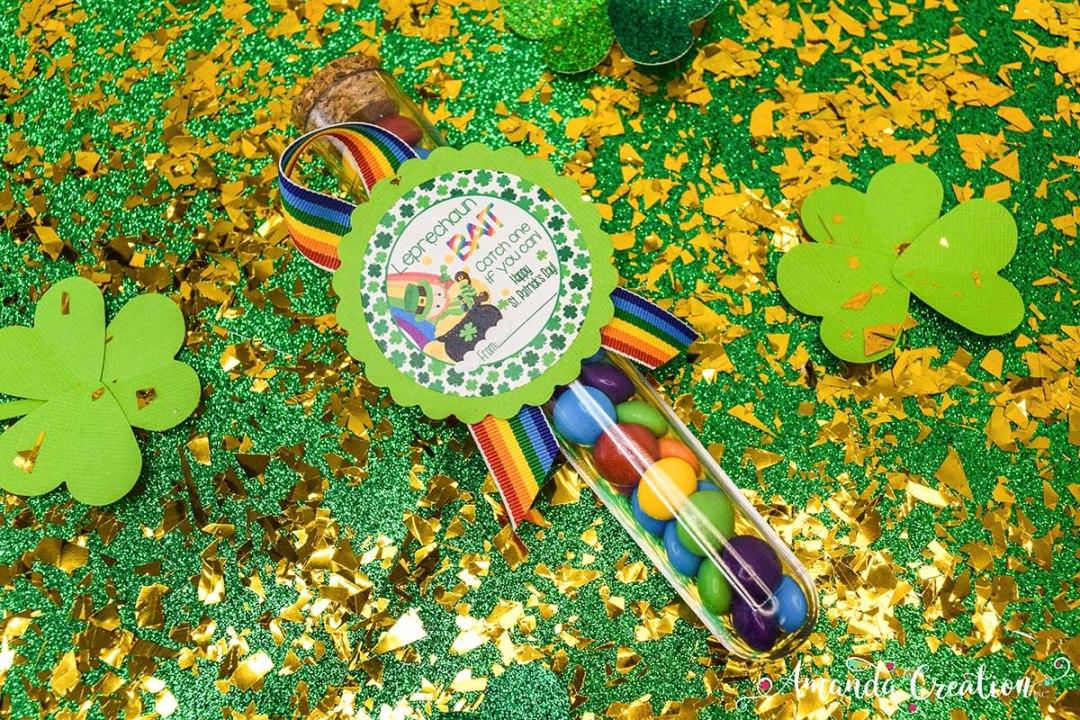 leprechaun bait gift sticker