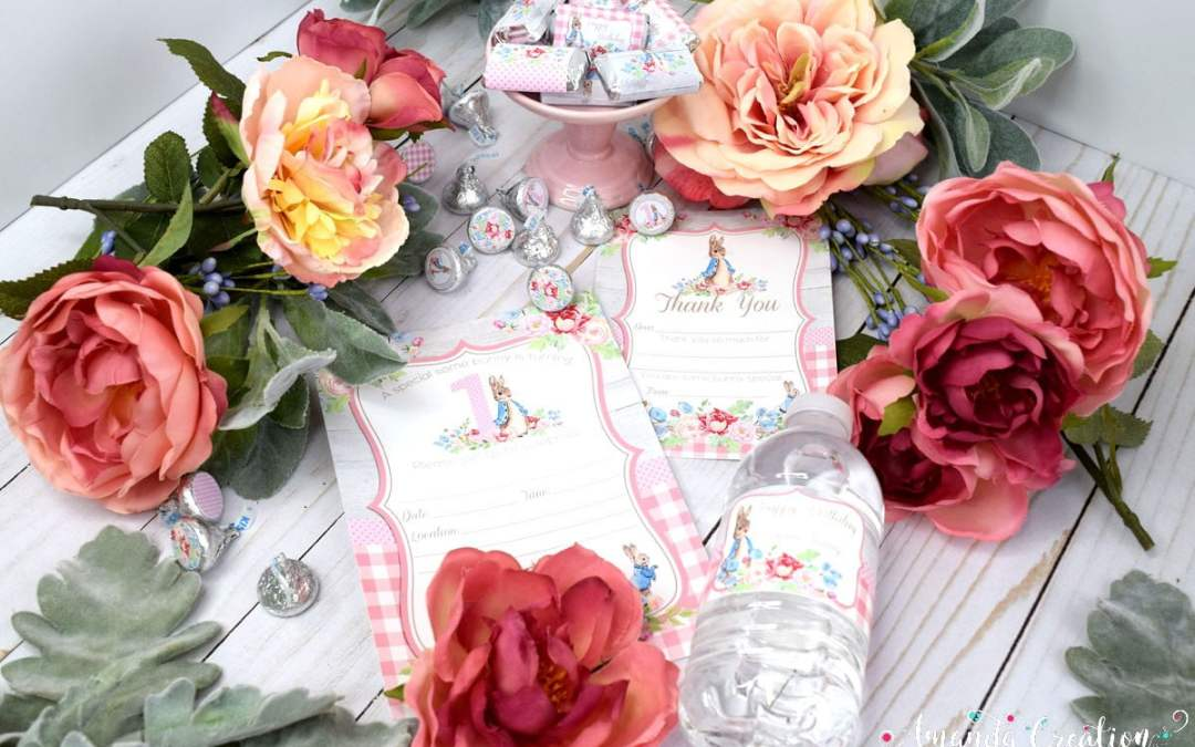A Beautiful Spring 1st Birthday Party for a Little Girl