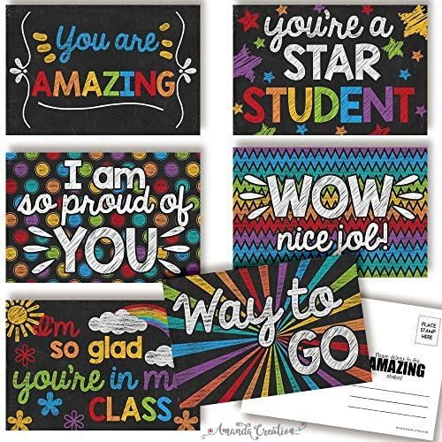 Teacher Postcards for Students