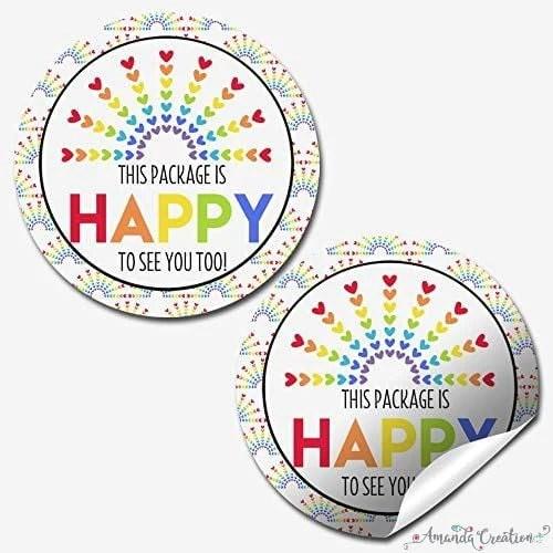 Customer Appreciation Stickers
