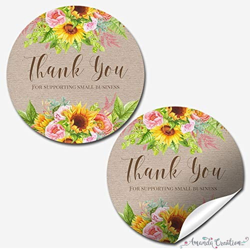 Small Business Customer Appreciation Stickers