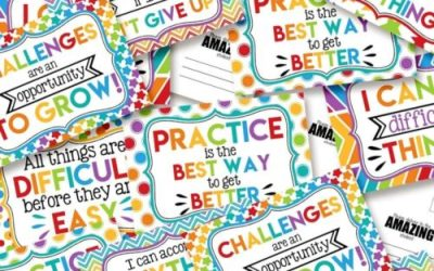Teachers Will Love Encouragement Postcards