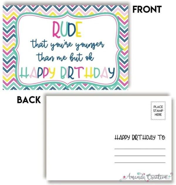 Funny Birthday Postcards