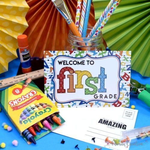 Welcome to First Grade Teacher Postcards