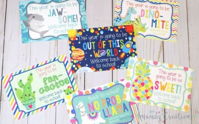 Teacher Postcards Welcome Students Back to Fun