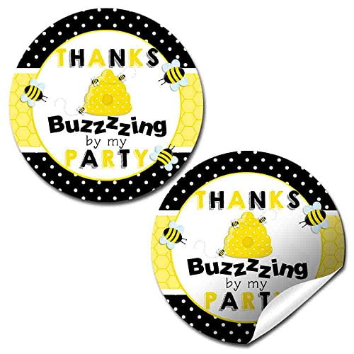 Bumble Bee Party Stickers
