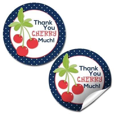 Cherry Sweet Party Stickers