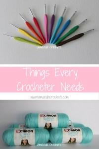 Things Every Crocheter Needs