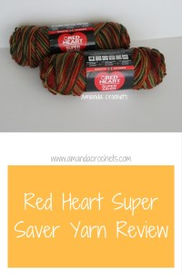 Yarn Review: Red Heart Super Saver