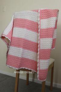 Cozy Stripes Baby Blanket