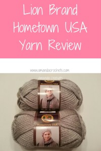 Lion Brand Hometown USA Yarn Review