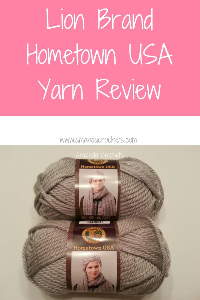 Lion Brand Hometown Usa Yarn Review Amanda Crochets