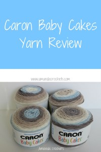 Caron Baby Cakes Yarn Review