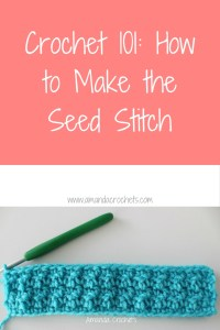 How to Make the Seed Stitch