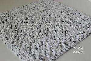 Grit Stitch Dishcloth Pattern