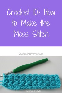 How to Make the Moss Stitch