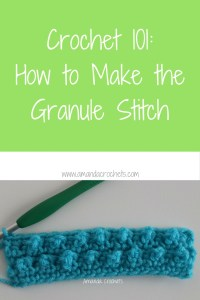 How to Make the Granule Stitch