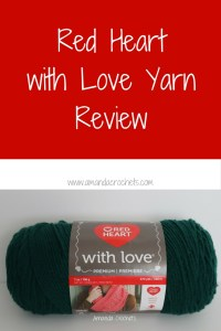 Red Heart with Love Yarn Review