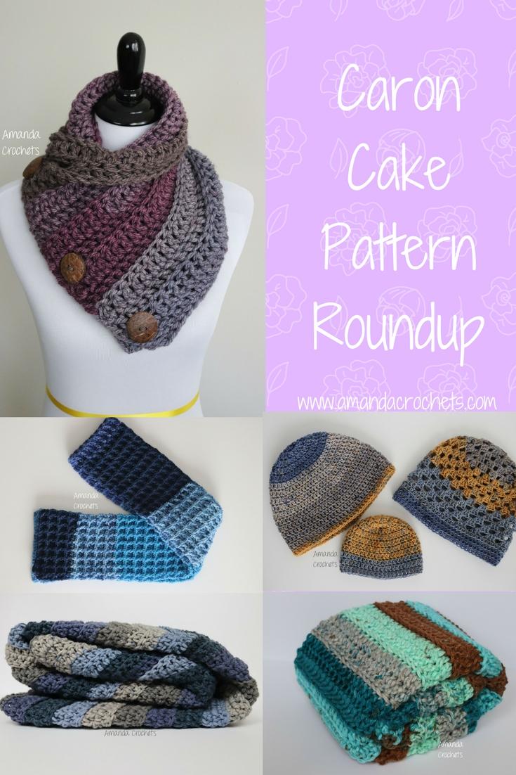Caron Cake Pattern Roundup - Amanda Crochets