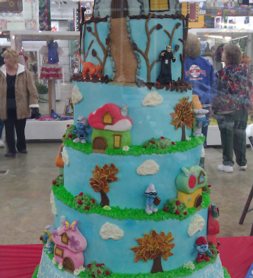 A Smurfy Cake, Coastal Carolina Fair 2011