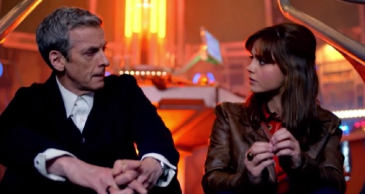 Capaldi and Coleman in Series 8 trailer