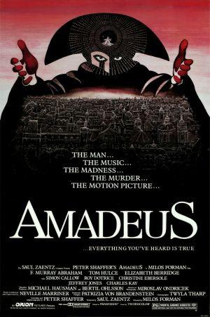 Amadeus movie poster