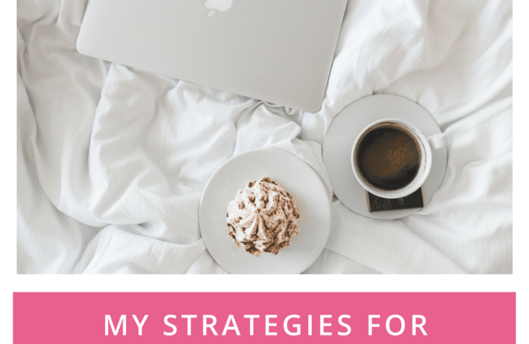 My Strategies for Personal Productivity