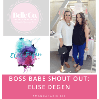 Boss Babe Shout Out: Elise Degen