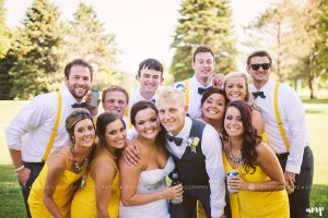 Wedding Party Wedding | Grand Junction Colorado wedding photographer