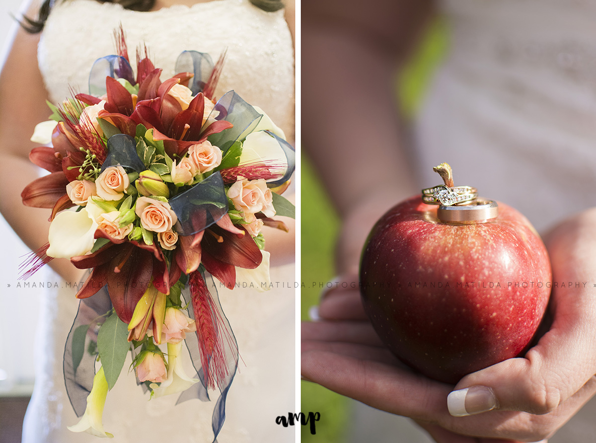 bouquet and ring detail | Grand Junction Wedding Photographer