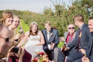 Hay Rack Ride | Grand Junction Wedding Photographer