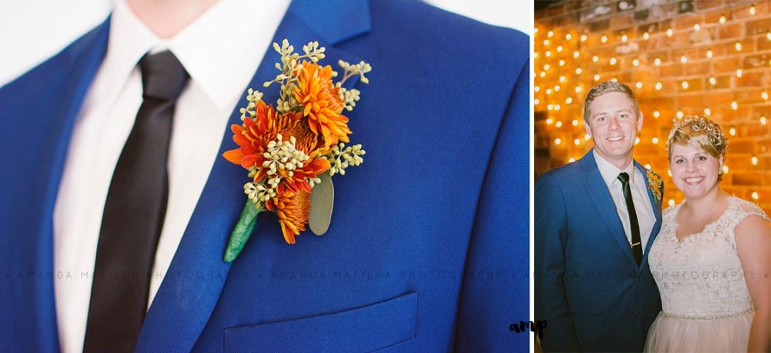 autumn wedding purple, sage and orange | Grand Junction Colorado wedding photographer