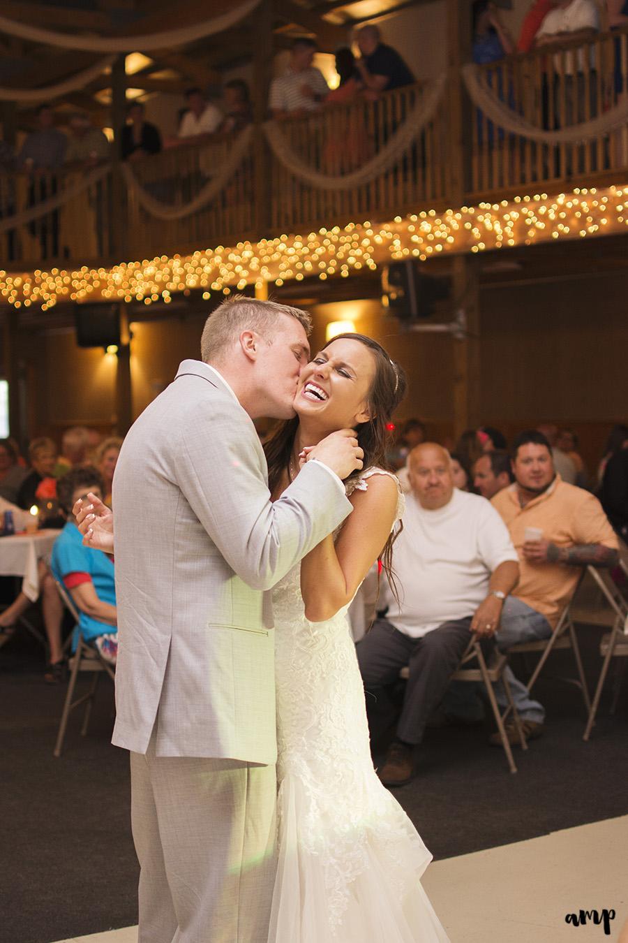 Wedding Reception First Dance | Palisade Winery Wedding Photographer